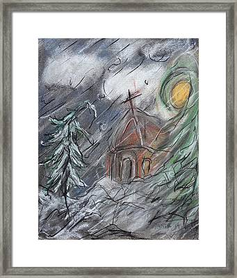 Beauty Of Winter Framed Print