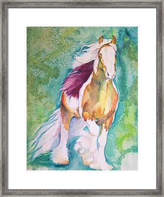 Framed Print featuring the painting Beauty by P Maure Bausch