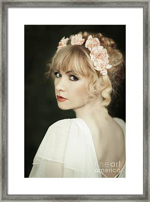Beauty Portrait Framed Print