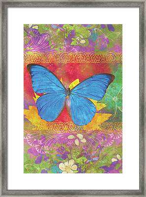 Beauty Queen Butterfly Framed Print by JQ Licensing