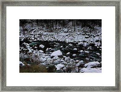 Beauty Framed Print by Rebecca Knoblauch
