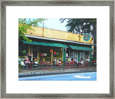 Beauty Shop And Do  Cooper Young Memphis Framed Print