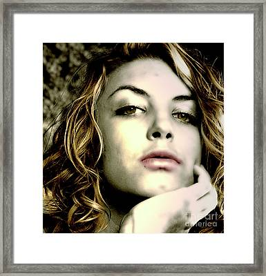 Beauty Under Vivid Light Framed Print