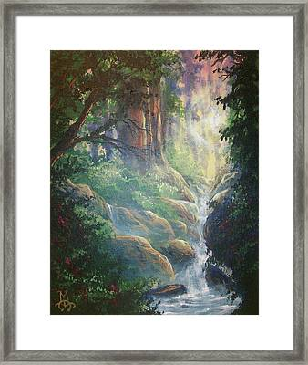Beauty Unveiled Framed Print by Marco Antonio Aguilar