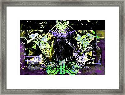 Beauty Vs Noise Tribute 2 Framed Print by Andrew Kaupe