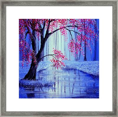 Beauty's Blossom Framed Print by Ann Marie Bone