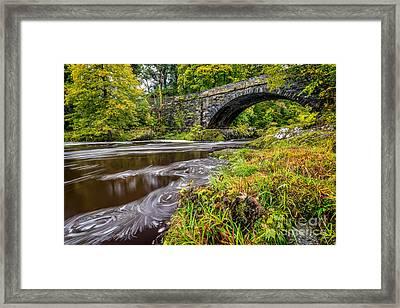 Beaver Bridge Framed Print