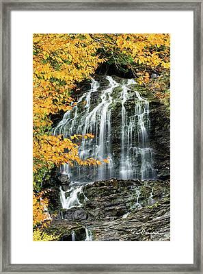 Beaver Brook Falls 8918 Framed Print