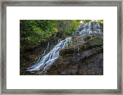 Beaver Brook Falls Framed Print