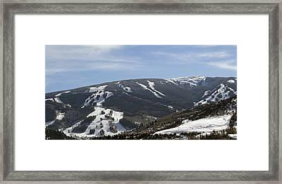 Beaver Creek Ski Resort Colorado Framed Print