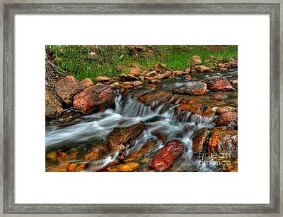 Beaver Creek Framed Print