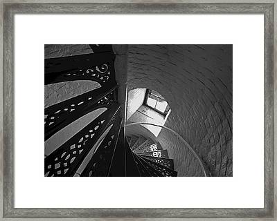 Beaver Island Lighthouse At High Noon Framed Print