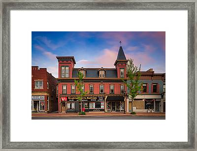 Beaver Pa  Framed Print