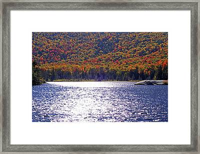 Beaver Pond Kinsman Notch New Hampshire Framed Print by Toby McGuire