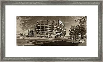 Beaver Stadium Framed Print