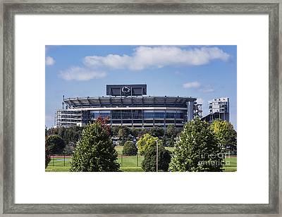 Beaver Stadium Framed Print by John Greim