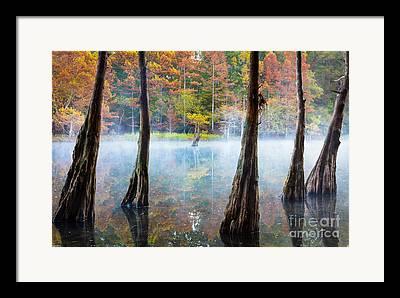 Beavers Bend Park Framed Prints