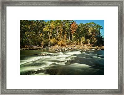 Beavers Bend Framed Print by Ricky Barnard
