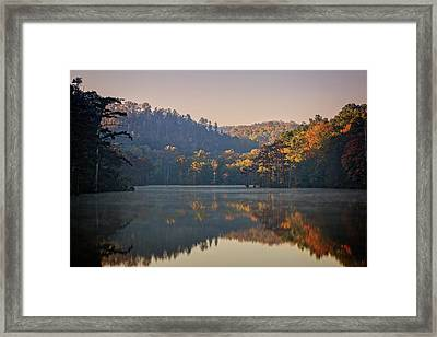 Beavers Bend Viii Framed Print by Ricky Barnard