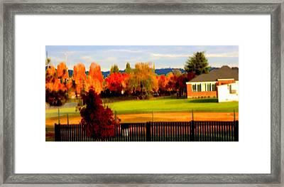 Beaverton H.s. 2 Framed Print