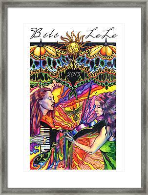 Bebe La La 2015 Framed Print