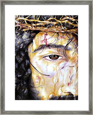 Because Of Love Framed Print