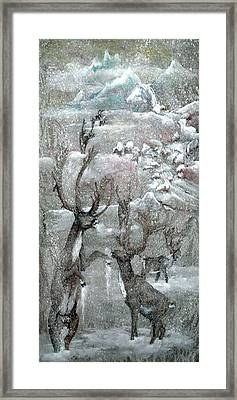 Framed Print featuring the painting Because Of The Cari Bou by Debbi Saccomanno Chan