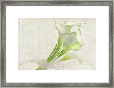 Because You Love Me Framed Print