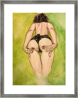 Becca Framed Print