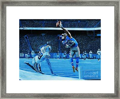 Beckham Legendary Framed Print