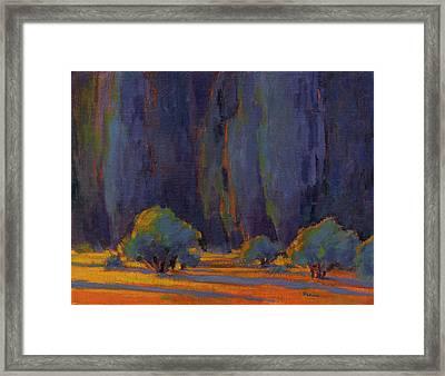 Beckoning Framed Print