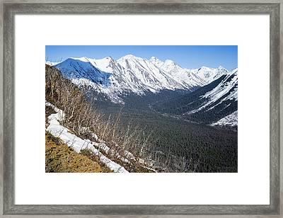 Beckoning Valley Framed Print
