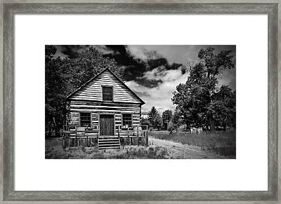 Beckwourth Cabin Framed Print