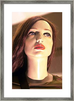 Becky Framed Print by Jez C Self