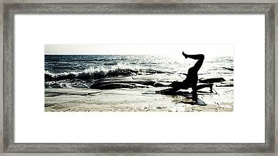 Become One Framed Print by Stelios Kleanthous
