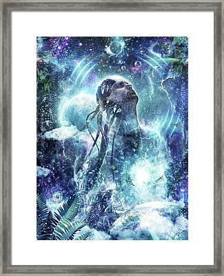 Become The Light Framed Print