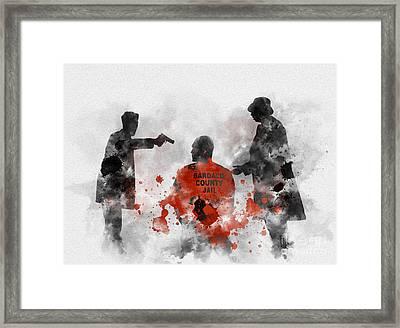 Become Wrath Framed Print