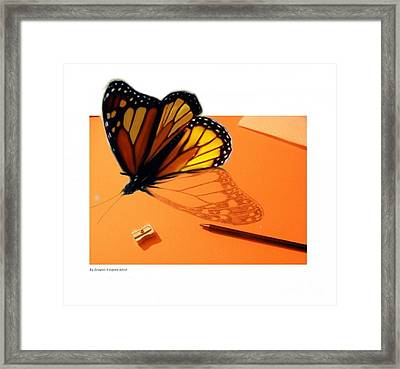 Becoming Free  Framed Print