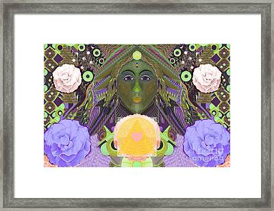 Becoming One - Version 1 Framed Print by Helena Tiainen