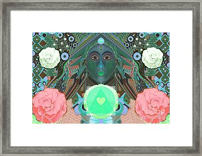 Becoming One - Version 2 Framed Print by Helena Tiainen