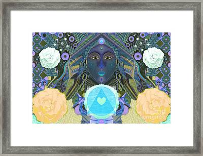 Becoming One - Version 3 Framed Print by Helena Tiainen