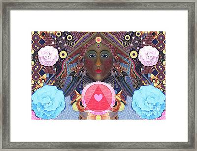 Becoming One - Version 4 Framed Print by Helena Tiainen