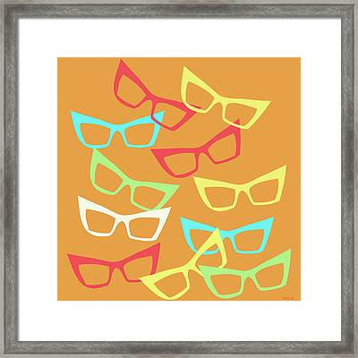 Becoming Spectacles Framed Print by Little Bunny Sunshine