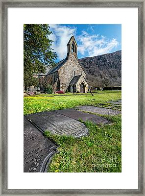 Beddgelert Church Framed Print by Adrian Evans
