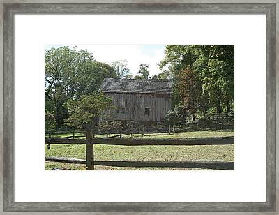 Bedford Barn Framed Print