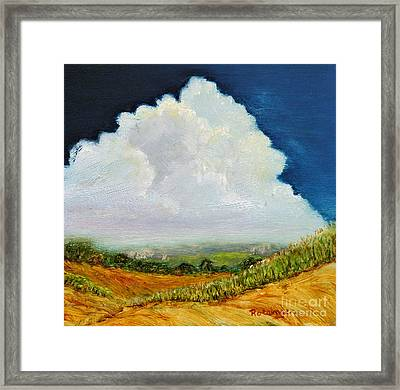 Bedford County Framed Print by Cindy Roesinger