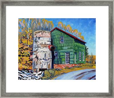 Bedford Mills Framed Print