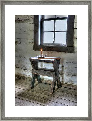 Framed Print featuring the digital art Bedford Village 2 by Sharon Batdorf