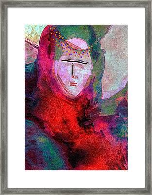 Bedouin 4 Framed Print by Mimo Krouzian