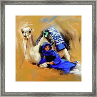 Bedouin Man 679 1 Framed Print